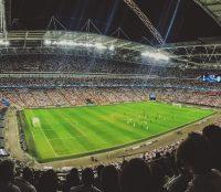 Een willekeurig voetbalstadion